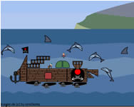 A pirate ship creator horg�sz j�t�kok